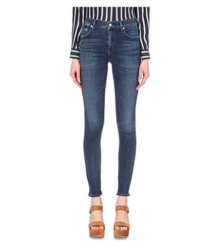 CITIZENS OF HUMANITY Rocket skinny high-rise jeans (Waverly