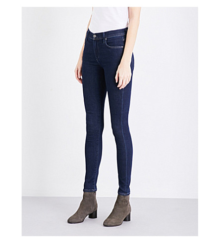 CITIZENS OF HUMANITY Rocket high-rise skinny jeans (True+indigo