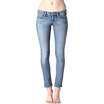 CITIZENS OF HUMANITY Racer skinny low-rise jeans (Mystic