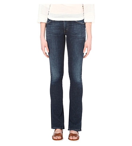 CITIZENS OF HUMANITY Emannuelle bootcut mid-rise jeans (Liberty