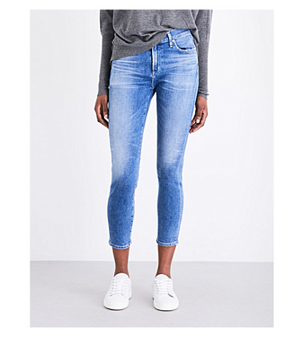 CITIZENS OF HUMANITY Rocket cropped high-rise jeans (Pacifica
