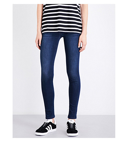 CITIZENS OF HUMANITY Rocket skinny high-rise cropped jeans (Te+amo