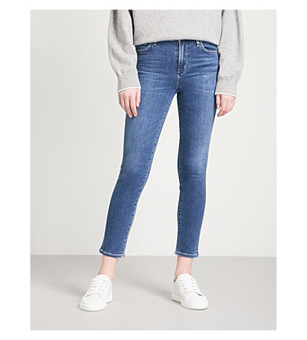 CITIZENS OF HUMANITY Rocket skinny cropped high-rise jeans (Retrograde