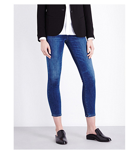 CITIZENS OF HUMANITY Rocket skinny high-rise cropped jeans (Echoes