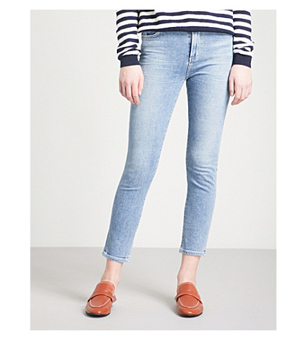 CITIZENS OF HUMANITY Rocket skinny cropped high-rise jeans (Firestone