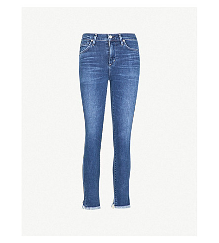 CITIZENS OF HUMANITY Rocket slim-fit high-rise jeans (Frequency