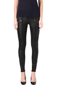 CITIZENS OF HUMANITY Delvine coated skinny high-rise jeans