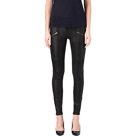 CITIZENS OF HUMANITY Delvine coated skinny high-rise jeans (Runaway