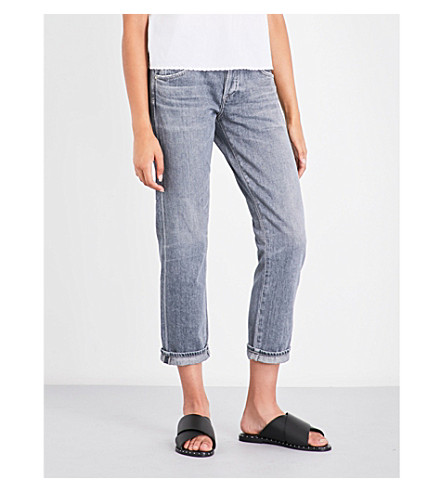 CITIZENS OF HUMANITY Emerson slim-fit boyfriend mid-rise jeans (Lumineer