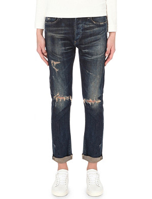 CITIZENS OF HUMANITY Corey slim low-rise stretch-denim jeans