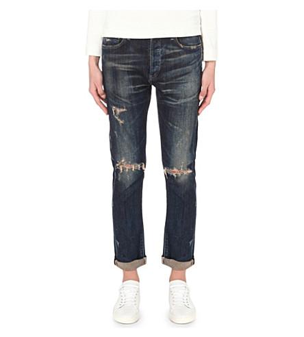 CITIZENS OF HUMANITY Corey slim boyfriend low-rise jeans (Bourbon