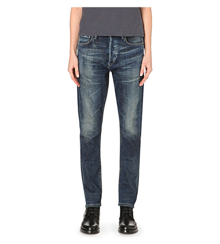 CITIZENS OF HUMANITY Corey boyfriend-fit low-rise jeans (Gage