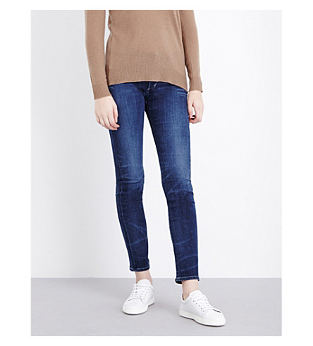 CITIZENS OF HUMANITY Arielle slim-fit mid-rise jeans (Hewett