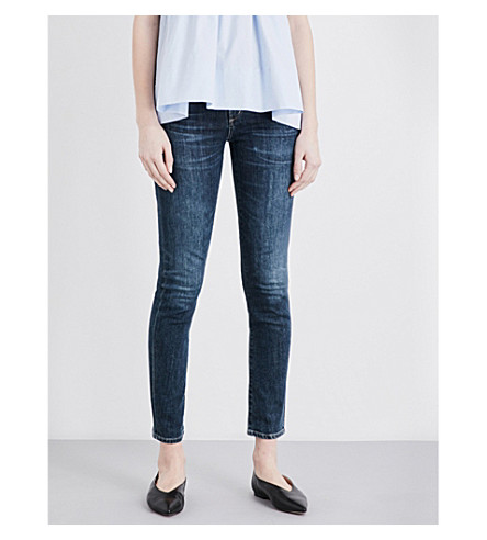 CITIZENS OF HUMANITY Arielle slim-fit mid-rise skinny jeans (Sonora