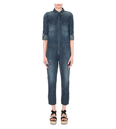 CITIZENS OF HUMANITY Tallulah denim jumpsuit (Stereo