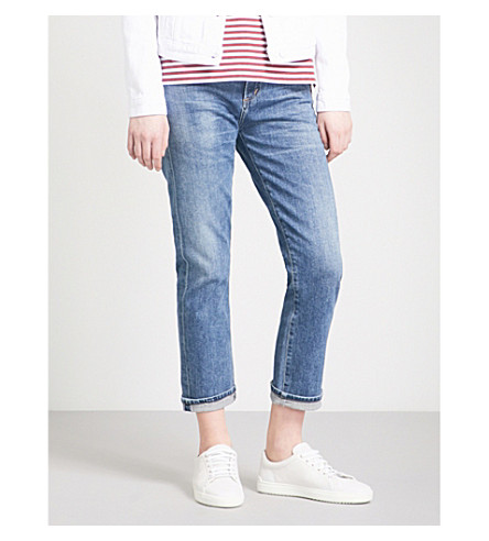 CITIZENS OF HUMANITY Emerson slim-fit boyfriend mid-rise jeans (Century