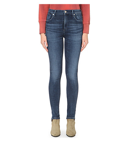 CITIZENS OF HUMANITY Carlie skinny high-rise jeans (Spritz