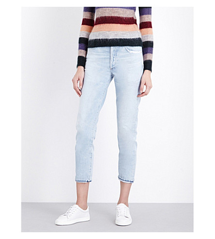 CITIZENS OF HUMANITY Liya boyfriend-fit high-rise jeans (Rock+on