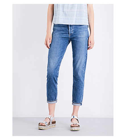 CITIZENS OF HUMANITY Liya classic-fit cropped high-rise jeans (Admire