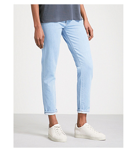 CITIZENS OF HUMANITY Liya straight high-rise jeans (Lamer