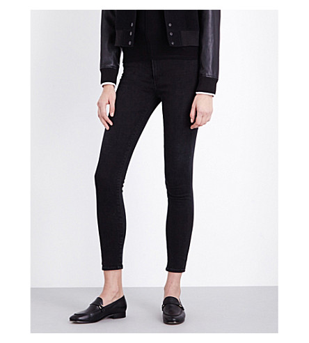 CITIZENS OF HUMANITY Chrissy skinny high-rise jeans (Midnight+city