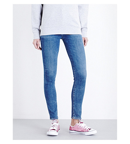 CITIZENS OF HUMANITY Chrissy skinny high-rise jeans (Hotline