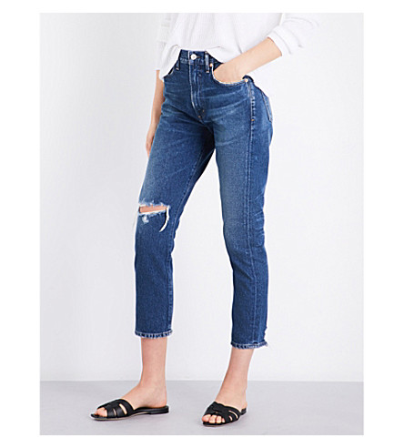 CITIZENS OF HUMANITY Dree high-rise slim-fit jeans (Session
