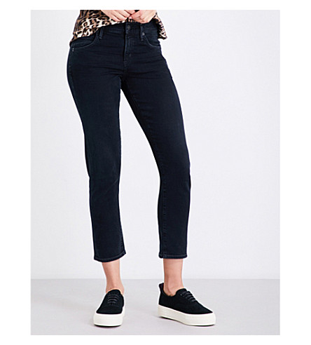 CITIZENS OF HUMANITY Elsa slim tapered mid-rise jeans (Under+ground
