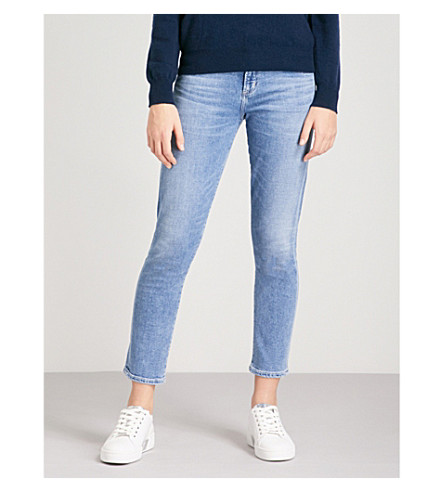 CITIZENS OF HUMANITY Elsa slim tapered mid-rise jeans (Pacifica