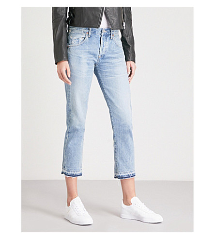 CITIZENS OF HUMANITY Emerson classic-fit straight cropped jeans (Stax