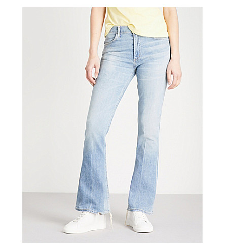 CITIZENS OF HUMANITY Kaya kick flare mid-rise jeans (Perry