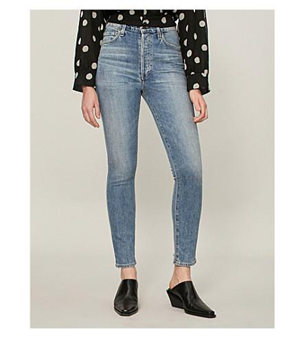 DE ajuste road Jeans holgado Back medio CIUDADANOS LA Olivia HUMANIDAD con de talle Tz4dpw4