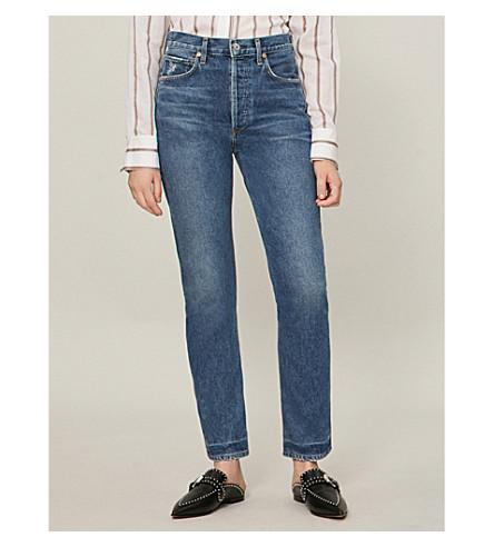 de relajado medio de Jeans Undertone CIUDADANOS DE talle HUMANIDAD corte LA qwYzYx0