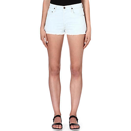 CITIZENS OF HUMANITY Chloe denim shorts (Serene