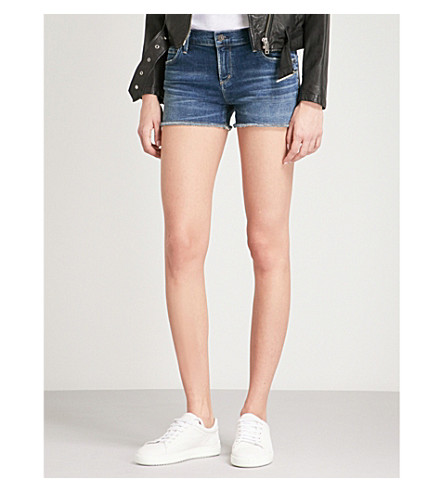 CITIZENS OF HUMANITY Ava mid-rise denim shorts (Modern+love