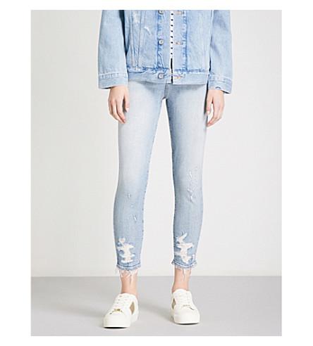 AGOLDE Sophie skinny cropped high-rise jeans (Vertigo