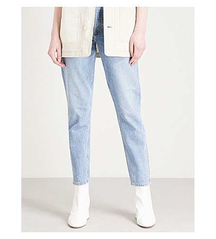 AGOLDE Jamie straight cropped high-rise jeans (Brooklyn