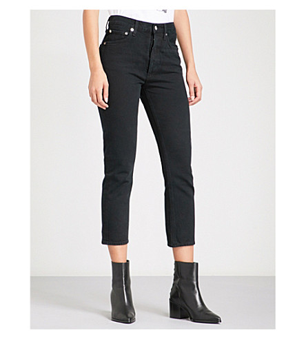 AGOLDE Jamie straight cropped high-rise jeans (Overtone