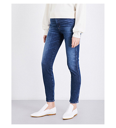 AGOLDE Roxanne skinny super high-rise jeans (Freeway