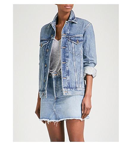 AGOLDE Jessie oversized denim jacket (Revival