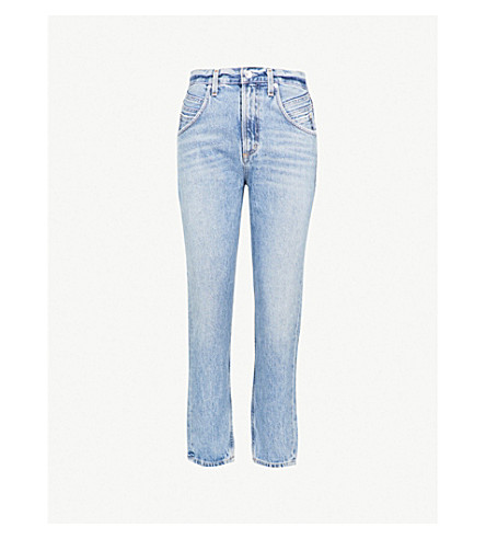 AGOLDE Palmer high-rise straight jeans (Temptation