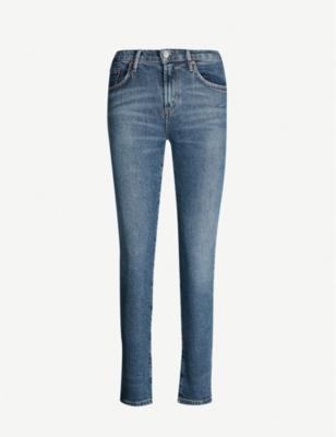 Toni slim-fit mid-rise jeans