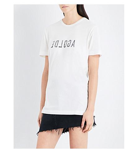 AGOLDE A$AP Ferg Graphic cotton-jersey T-shirt (Ash