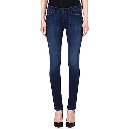GOLDSIGN Misfit slim mid-rise jeans (Motif