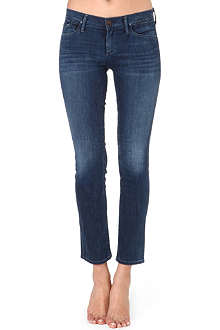 GOLDSIGN Frontier skinny cropped low-rise jeans