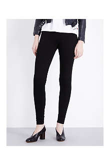 GOLDSIGN Zebra skinny mid-rise leggings