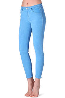 GOLDSIGN Virtual high-rise skinny jeans