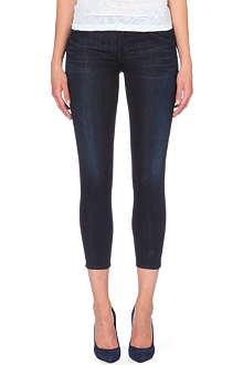 GOLDSIGN Glam skinny mid-rise jeans