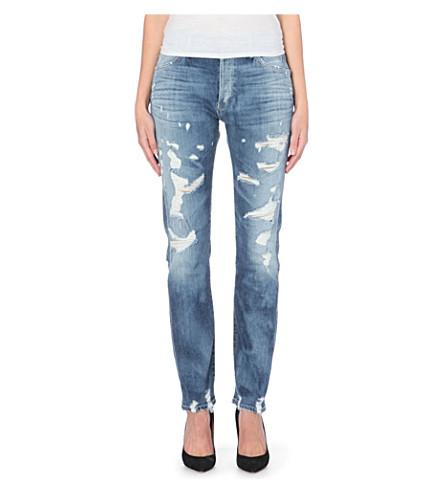 GOLDSIGN Stevie straight mid-rise jeans (Shanelle