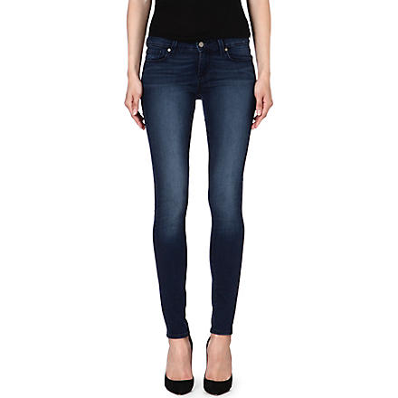 PAIGE DENIM Verdugo skinny mid-rise jeans (June+lake